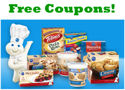 pillsbury free coupons